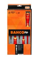 Bahco Bahcofit Insulated Screwdriver Set - 5 Piece